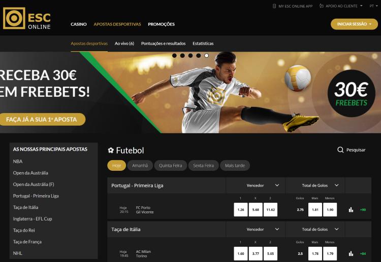 ESC Online oferece 10€ grátis só por te registares